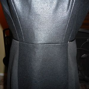Tahari Dresses - NWT HOT Black Leather look Tahari dress, 4